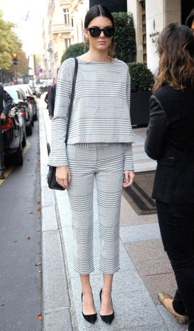 Mandatory Credit: Photo by CHRISTOPHER KUHN/SIPA/REX (4116176a) Kendall Jenner Kendall Jenner and Kris Jenner out and about, Paris, France - 24 Sep 2014 Kendall Jenner and Kris Jenner leaving their Hotel