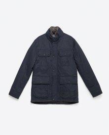 From Markası: ZARA Price Fiyatı: 229.95 TL Link: http://www.zara.com/tr/en/man/outerwear/view-all/parka-with-faux-fur-collar-c764502p3131538.html