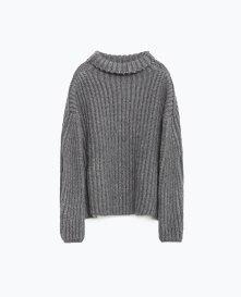 From Markası: ZARA Price Fiyatı: 149.95 TL Link: http://www.zara.com/tr/en/woman/knitwear/view-all/high-neck-sweater-c733910p3128002.html