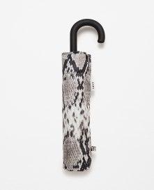 From Markası: ZARA Price Fiyatı: 49.95 TL Link: http://www.zara.com/tr/en/woman/accessories/view-all/snake-print-umbrella-c733915p2813960.html
