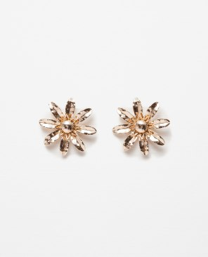 ZARA | Buy here/Buradan satın alın: http://www.zara.com/tr/en/woman/accessories/view-all/floral-earrings-c719013p3185684.html