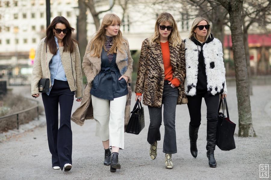 Street Style during Stockholm Fashion Week AW 2016