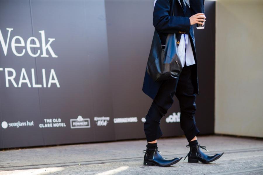 Street style at Australia Fashion Week 2016